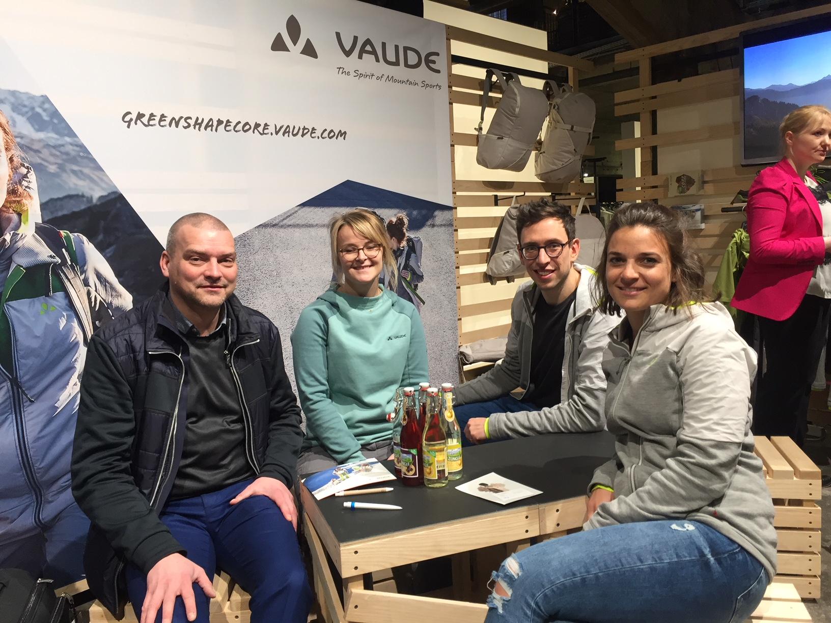 Alex Ingildsen, LTP & VAUDE team Lara Delle, Aaron Bittner, Greta Stehling