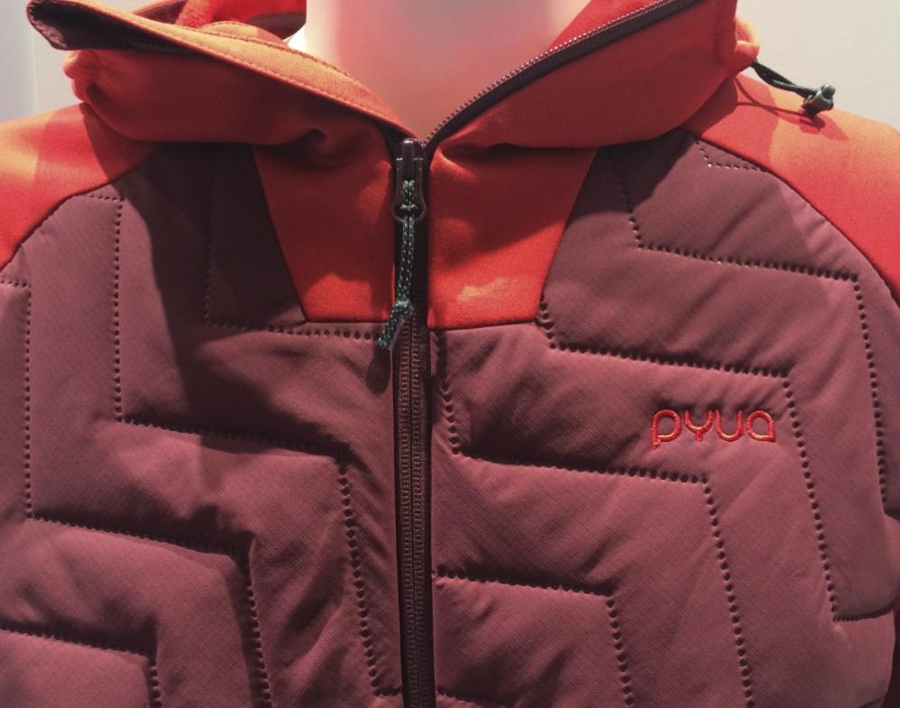 PYUA: Snug-Y 2.0 Men's Hybrid Fleece Jacket at ISPO 2018