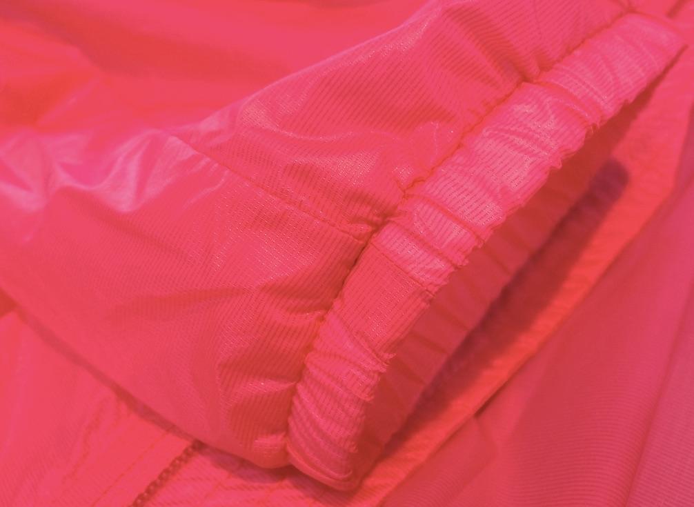 TORAY lightweight, windproof jacket, 100% nylon mini ripstop © Anne Prahl
