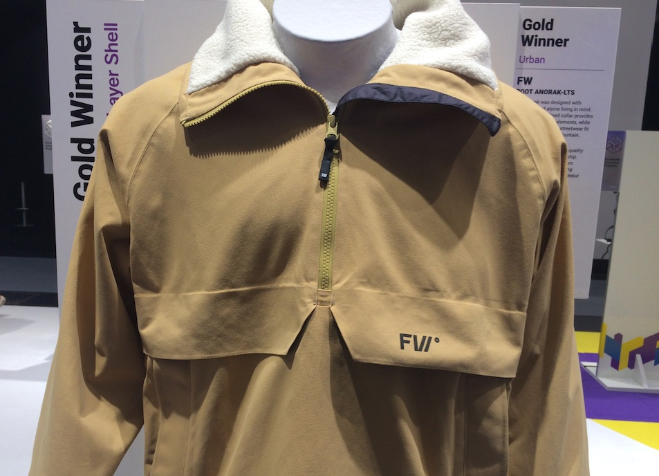 FW Root Anorak at ISPO 2019 © Anne Prahl