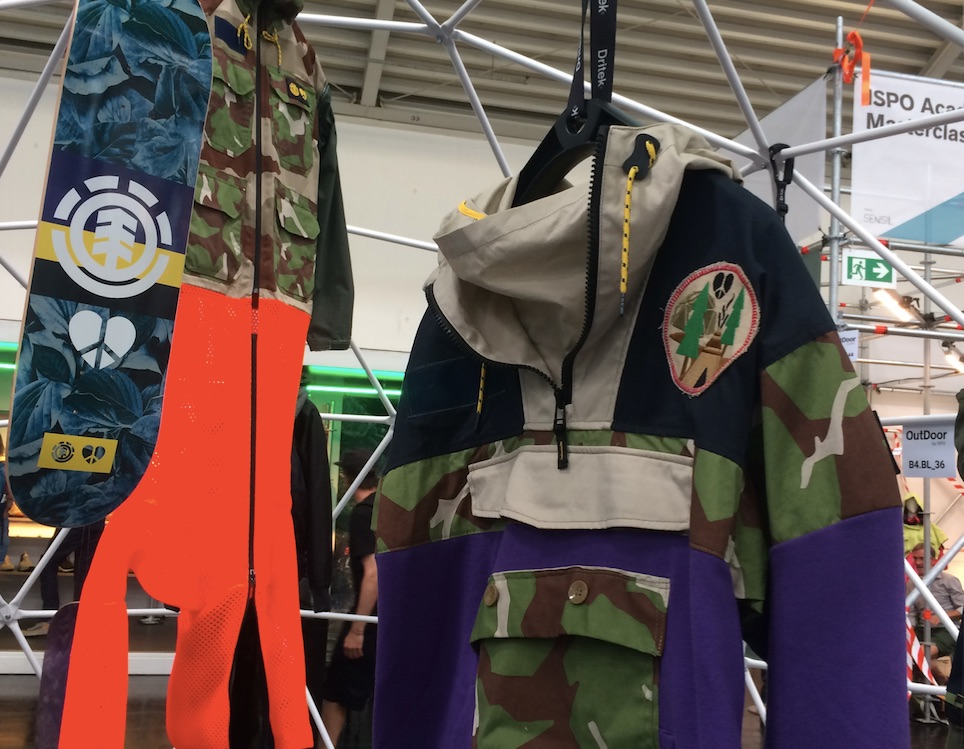 Griffin outerwear collection at OutDoor by ISPO 2019