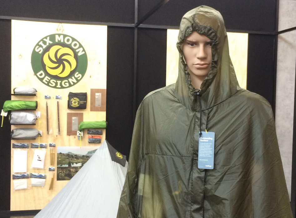 Gatewood Cape by Six Moon Design at OutDoor by ISPO 2019