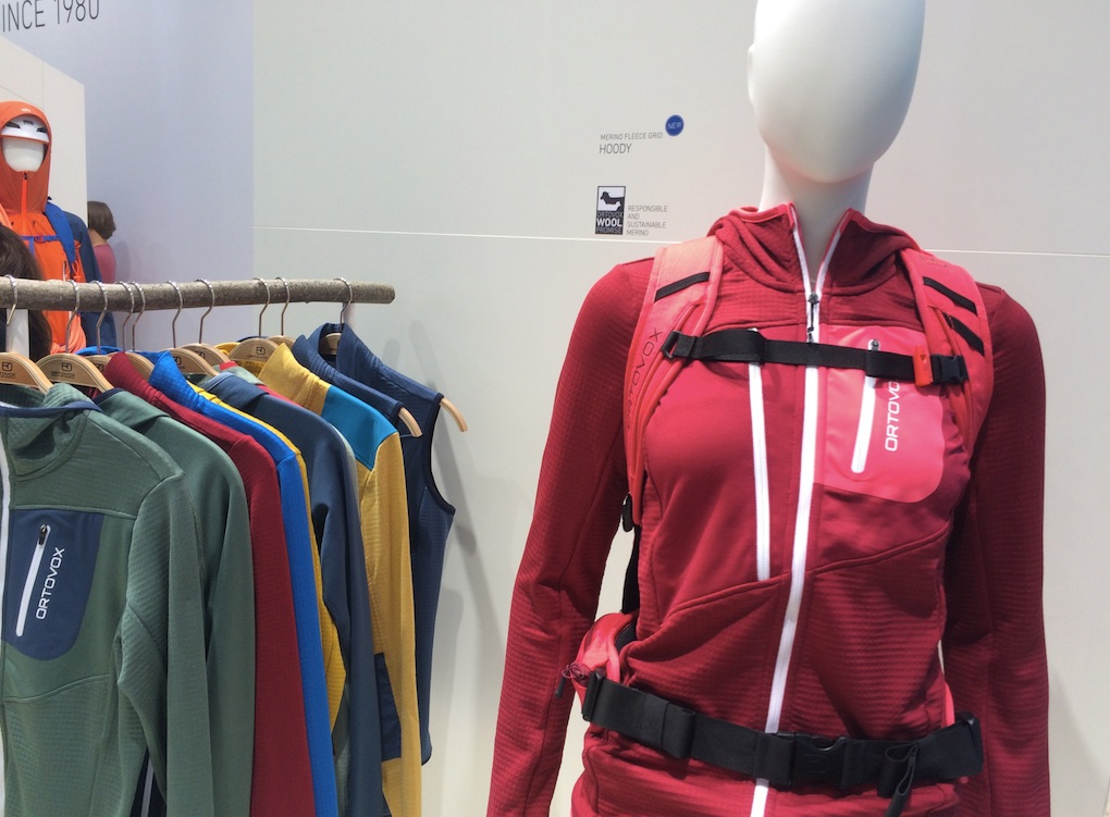 Ortovox collection at OutDoor by ISPO 2019 © Anne Prahl
