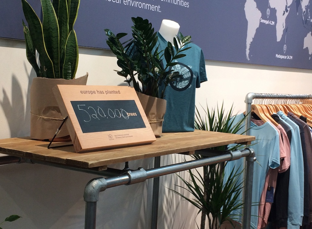 tentree collection at OutDoor by ISPO 2019 © Anne Prahl