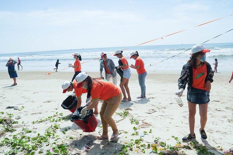 Beautiful sandy beach, after LTP Beach clean up