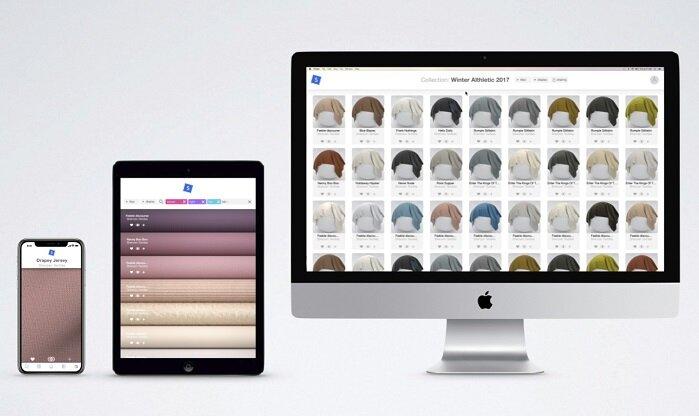 Digital materials hub swatchbook, image   www.swatchbook.us