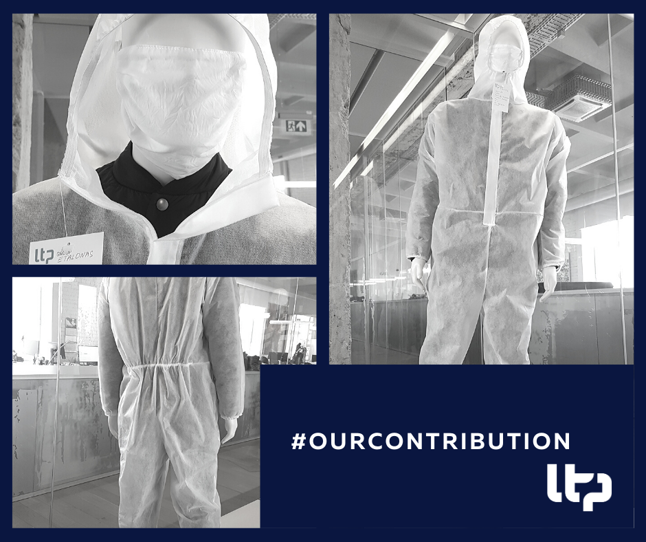 March 2020   Donating protective gear  Single-use suits for Lithuanian authorities   READ MORE