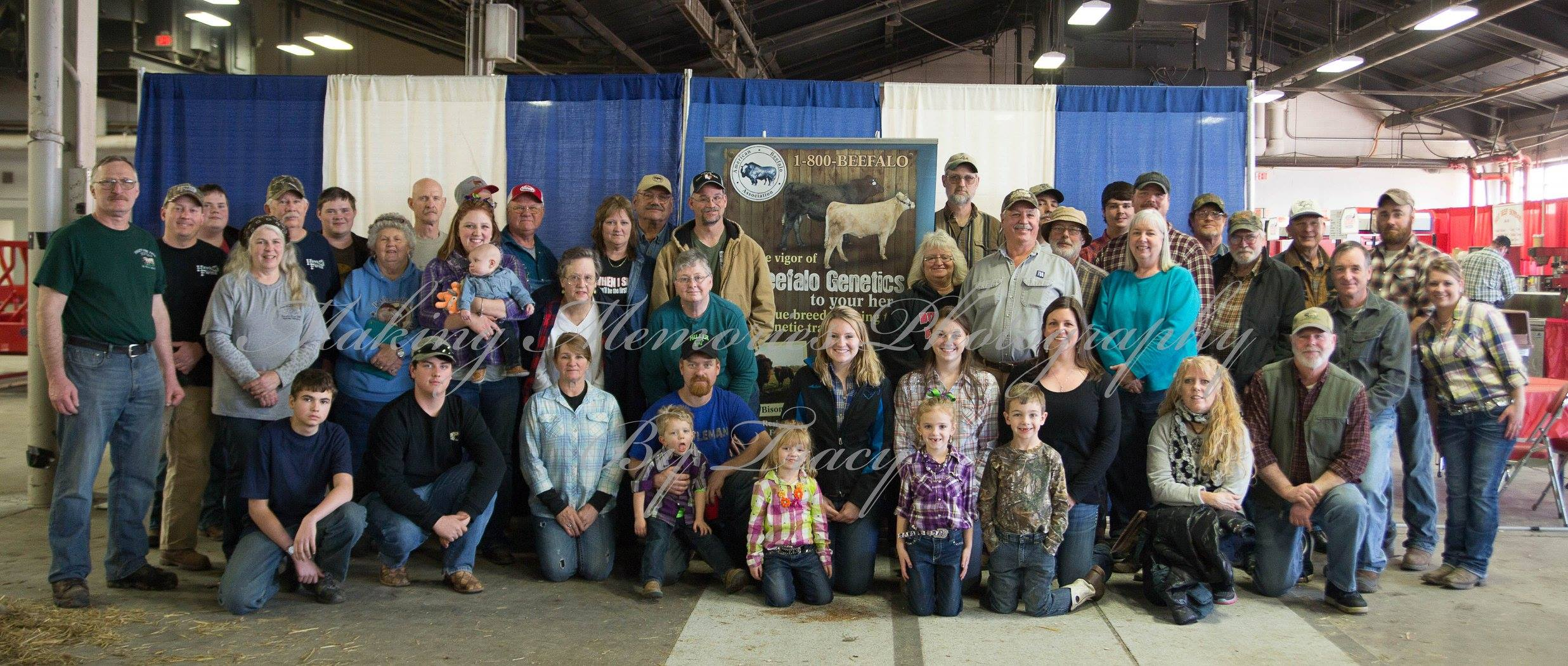 American Beefalo Association members at Kentucky Show
