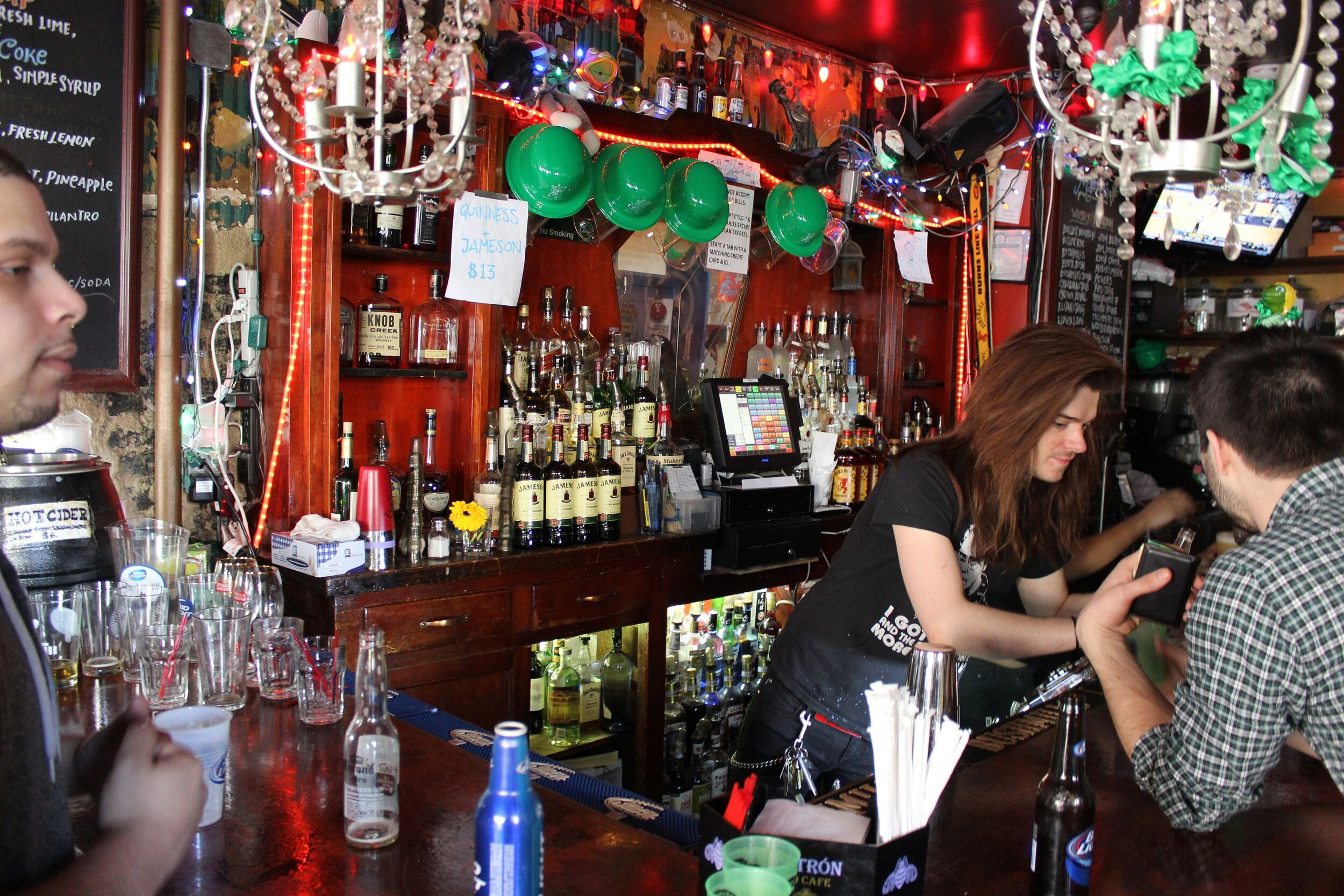 MAMA'S BAR    34 Avenue B  Sam Adams Oktoberfest + Brooklyn Lager