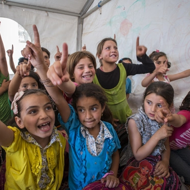 """SYRIA    """"What is at stake is nothing less than the survival and well being of a generation of innocents...The youth of Syria are losing their homes, their family members and their futures. Even after they have crossed a border to safety, they are traumatized, depressed and in need of a reason for hope."""" ..."""