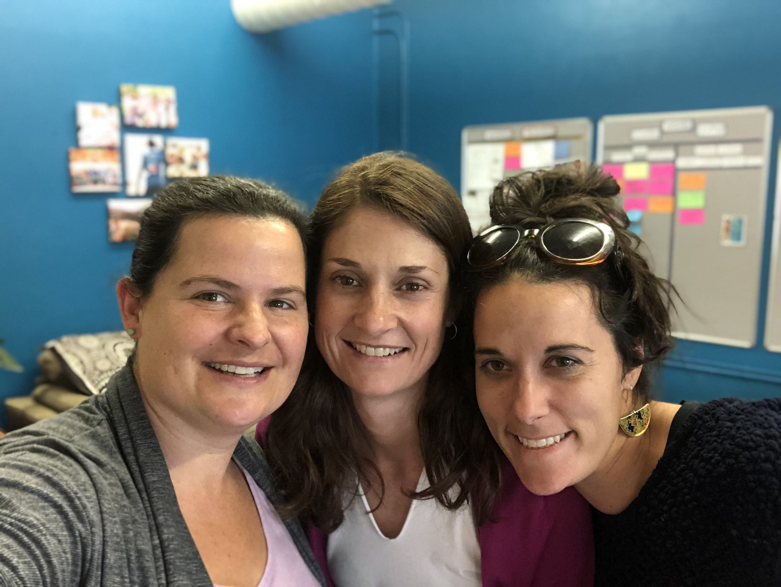 Current SLM team- Mary, Molly, and Greta!