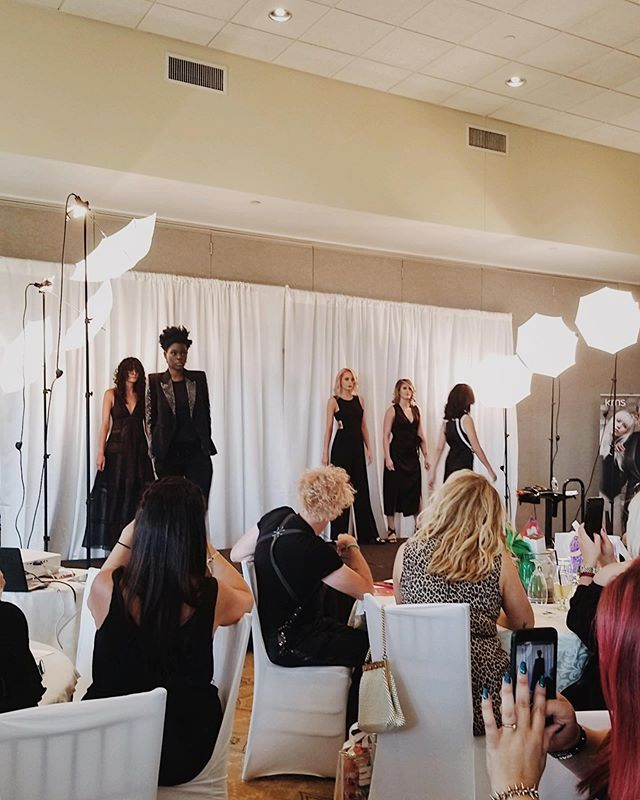 Our stylists are constantly inspired by the newest trends and innovations in the beauty industry. Senior stylists Jacqui and Kelly had the pleasure of attending an exclusive event this weekend featuring national Goldwell & KMS artists. We are so inspired by these creative innovations in color & cutting techniques! @goldwellus @kmshairus • • • #goldwellapprovedus #goldwellmastercolorist #goldwellstylists #kms #kmshair #haireducation #neverstoplearning #behindthechair #hairtrends2019