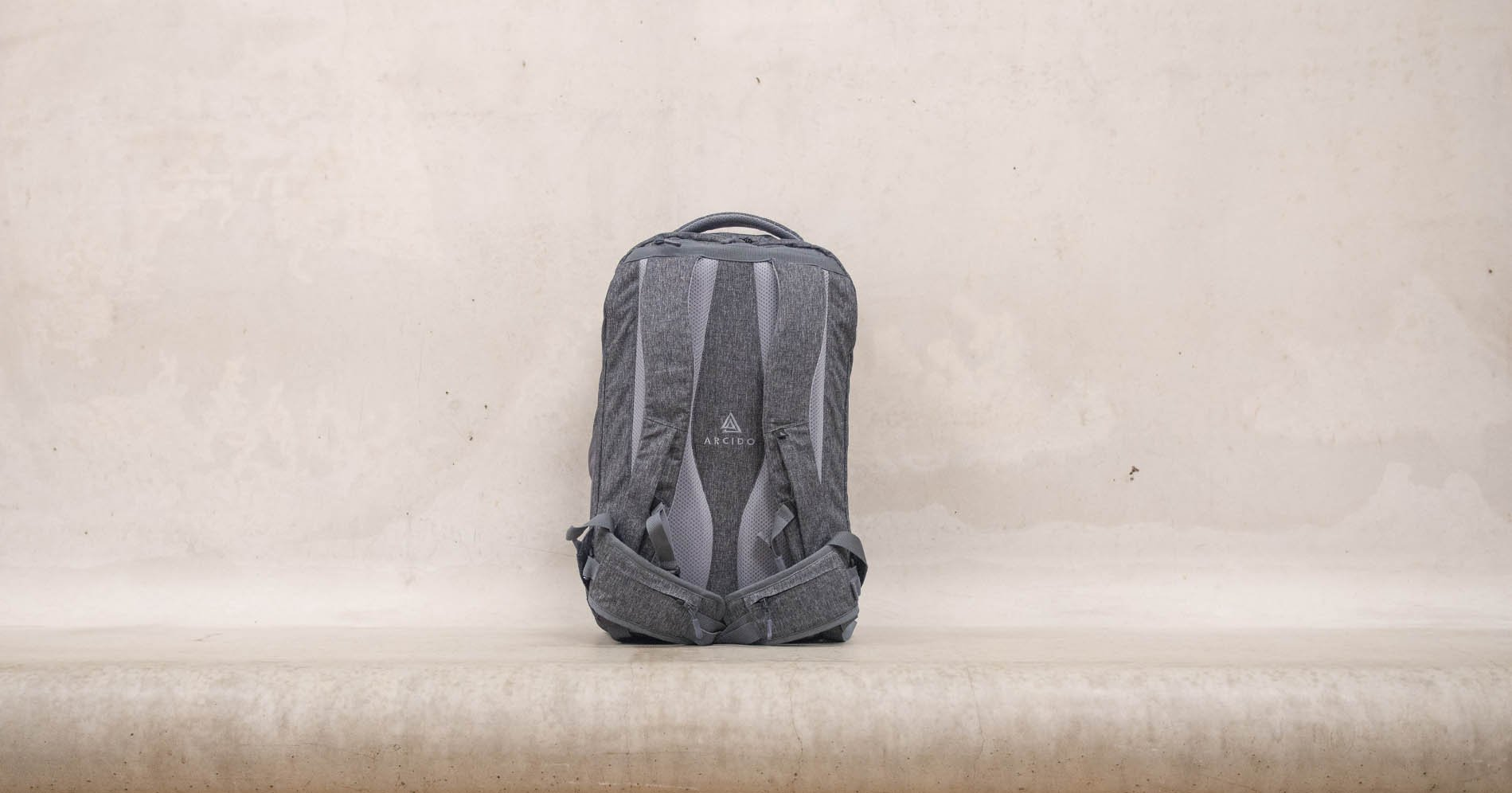 Less is more. Arcido backpacks encourage travelers to pack less and has created a design that's both practical and minimalistic.