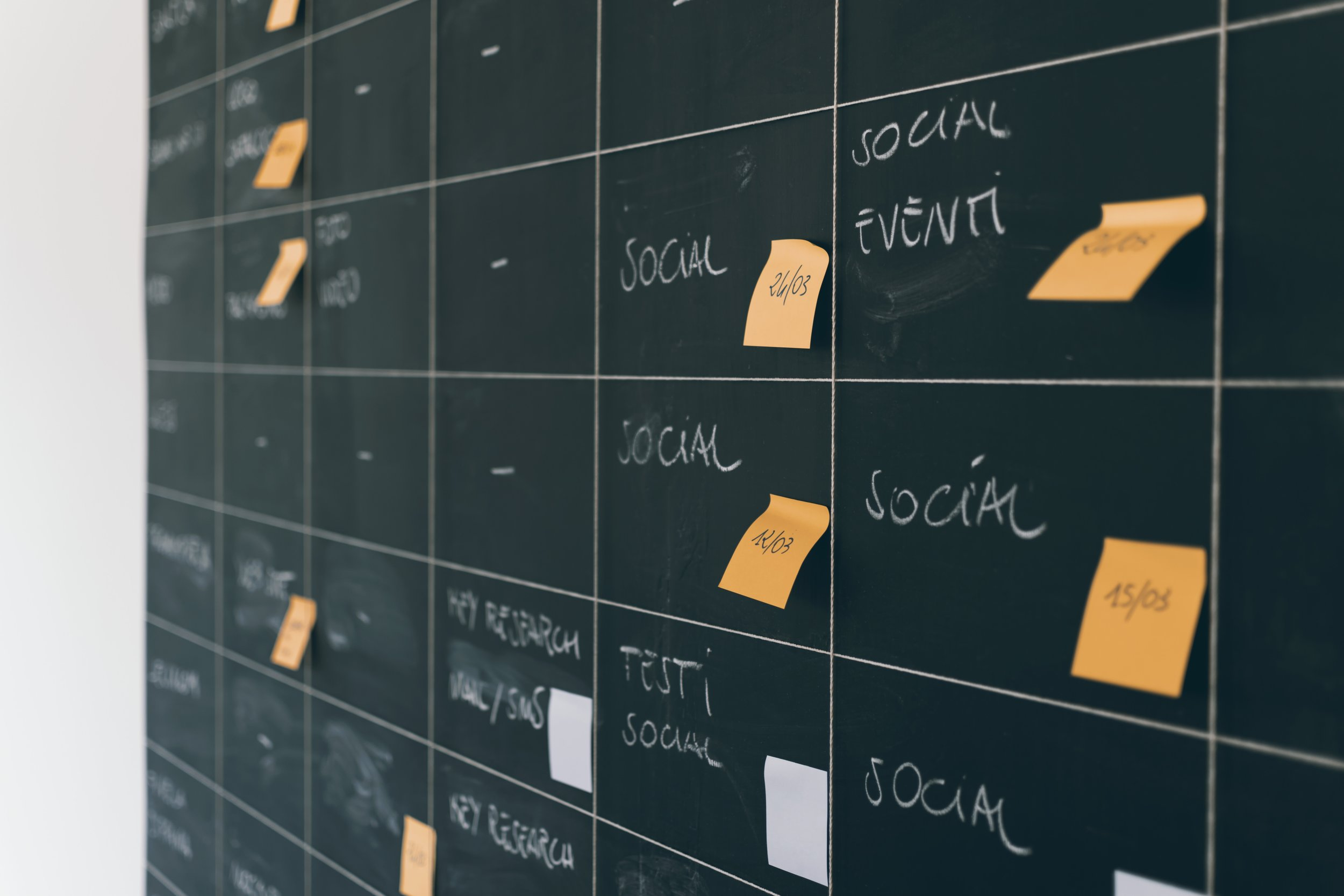 Project management tools are also a great way to stay organized and on top of a project's timeline.