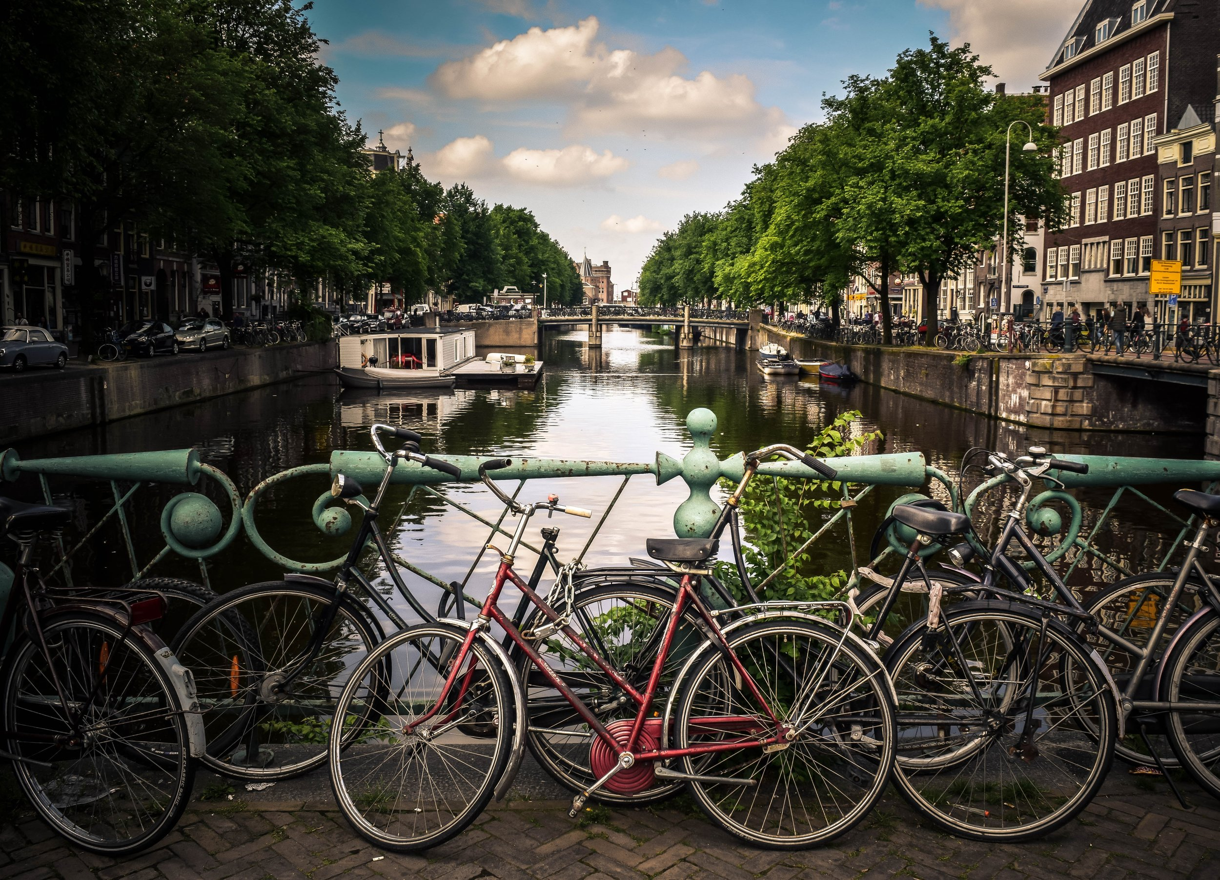 Amsterdam is a popular tourist hub but is quickly becoming know for its startup and entrepreneur scene.