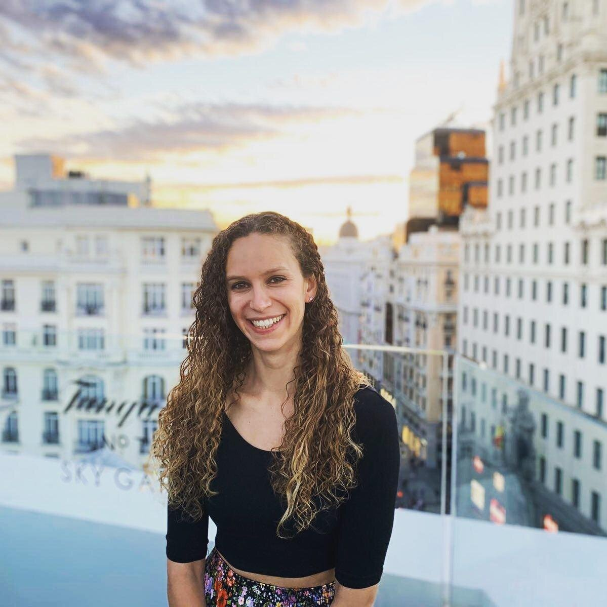"""""""A rooftop sunset in Madrid, my former home and the city where my freelancing career started."""""""