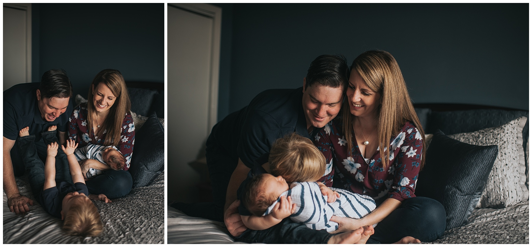 Family of Four Fairfield County, Ct Kendra Conroy Photography