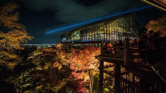 Kiyumizudera, the mountain temple at night  🗾🗼⛩️🇯🇵👘🏯🍜🍱🎎🌸 #snubstravels ➡️ Like travel vids? YouTube.com/ShannonMorse 📸 Sony A7RII 🌎 Location tagged above photo!  . #temple #shrine #japan #japantravel #traveljapan #SnubsInJapan #japantrip #discoverjapan #myjapan #instagramjapan #japanawaits #japanalert #japan_vacations  #japan_night_view #visitjapanjp #visitjapanau #visitjapan #japanrevealed #lovers_nippon   @exploringjapan @visitjapanau  @japanalert @japanawaits @japan.vacations @japantravelcom @japanloverme @visitjapanjp @visitjapan.us  #kyoto #kyotojapan #kyototravel #kyototemple #kyototrip #kyotogram #visitkyoto #instakyoto #kyoto⛩️ #kyoto🇯🇵 @visit.kyoto