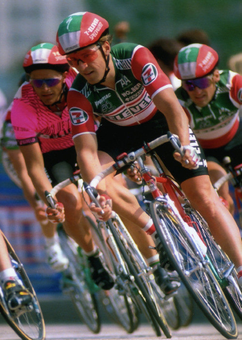 With Davis Phinney helping Dag-Otto win '89 Tour de Trump