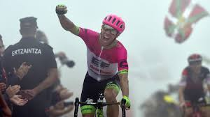 Woodsy wins at the Vuelta