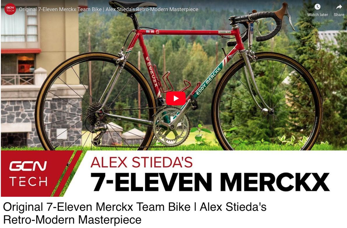 My modified Classic Merckx for a Modern Fondo.