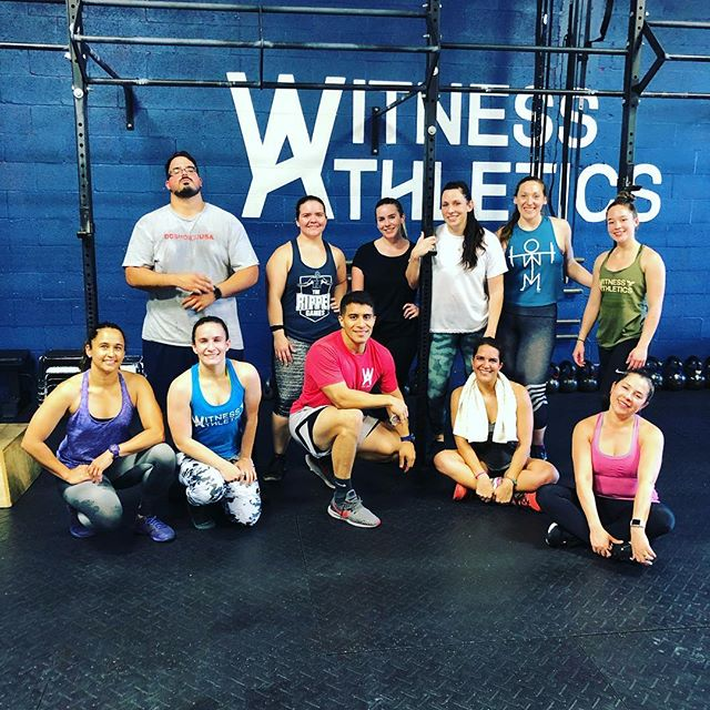 "When strangers become friends & then friends become family. Best support group ever. Join us and see the difference. Contact us for a 3 Day Free Trial! ———————————————— May 3 ......................................... Weightlifting Clean and Jerk (6 x 1)  Metcon (AMRAP - Reps) 2 Sets 2:00 On/ 1:00 Off Row (Cal) Power Clean 135/95 lbs. Box Jumps 24/20"" ———————————————— #witnessathletics ⭐️ #crossfit ⭐️ #community ⭐️ #fitness ⭐️ #health ⭐️"