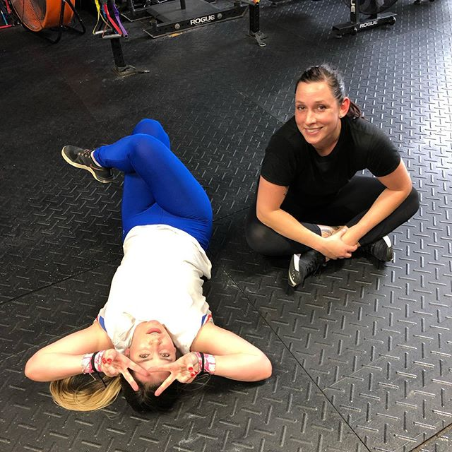 Partner WODS are always a fun way to bond and get that extra push. Lets have some fun! May 16 ........................................ Metcon (For Time) Teams of ✌🏼 30 Synchro MB Sit-ups 20/14 lbs 30 Deadlifts 135/95 lbs. 800M Run 30 Synchro MB Sit-ups 30 Deadlifts 135/95 lbs. 1000M Row 30 Synchro MB Sit-ups 30 Deadlifts 135/95 lbs. 2K Bike  Accessory  3 sets of: 12 DB Bench Press 12 Supine Pull-Ups 12 BB Goodmornings 65/45 lbs Rest 1:00 between sets. ———————————————— #witnessathletics ⭐️ #crossfit ⭐️ #community ⭐️ #fitness ⭐️ #health ⭐️