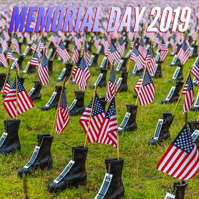 "Today we honor our fallen heroes who paid the ultimate sacrifice so that we can enjoy the freedoms this country has to offer. We honor them today by performing ""Murph""  1 Mile Run 100 Pull-Ups  200 Push-Ups 300 Air Squats  1 Mile Run with a 20# Vest.  #witnessathletics ⭐️ #crossfit ⭐️ #community ⭐️ #fitness ⭐️ #health ⭐️ #memorialday2019"