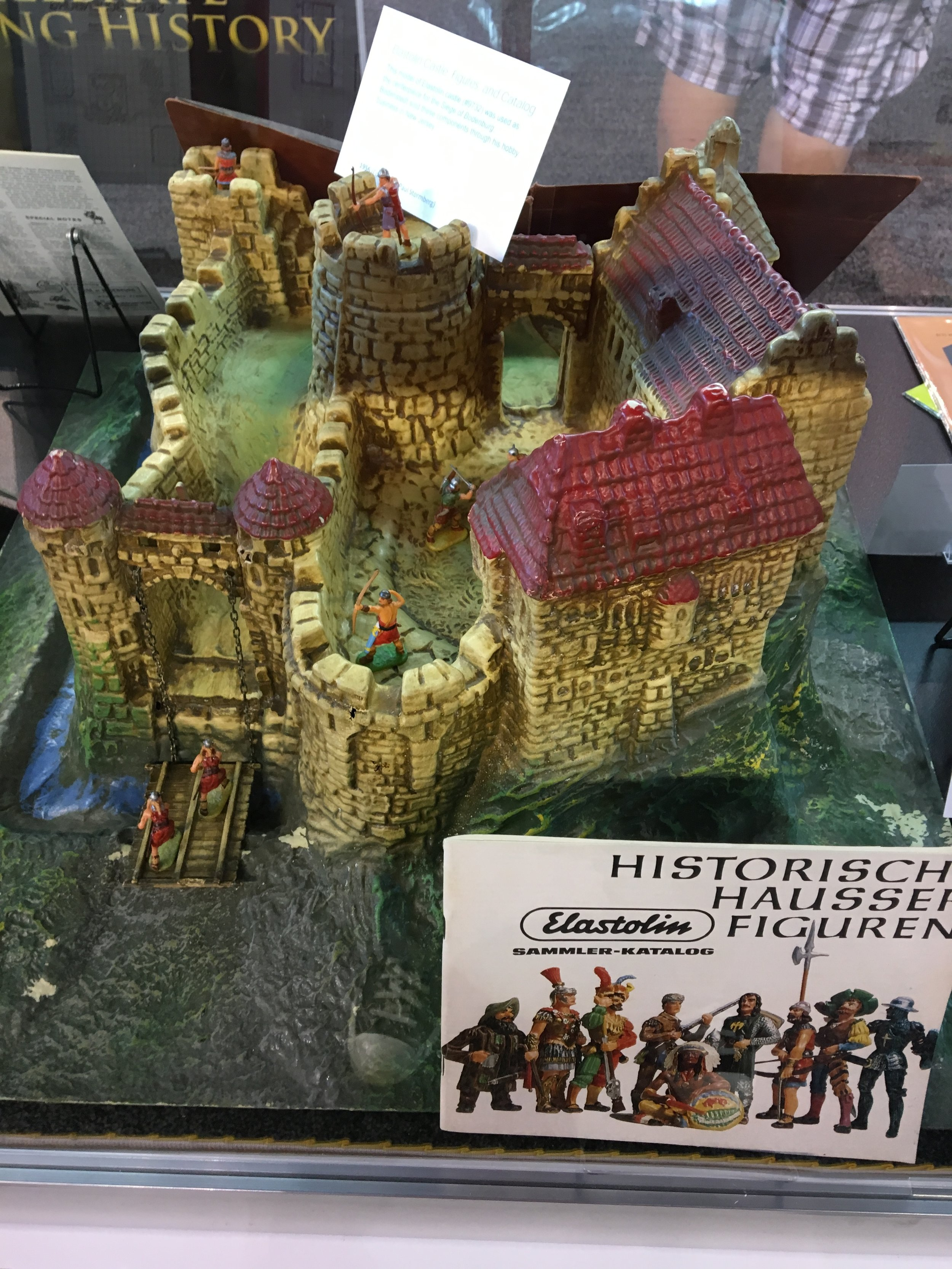 If you've read  Playing at the World , you'll know about the role Elastolin figures (and this castle in particular) played in the development of proto-D&D. And if you haven't read  Playing at the World , you really owe it to yourself to do so.