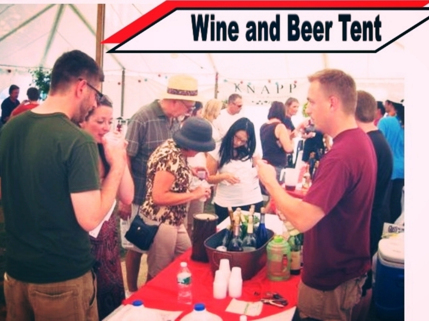 WINE AND BEER TENT INFORMATION