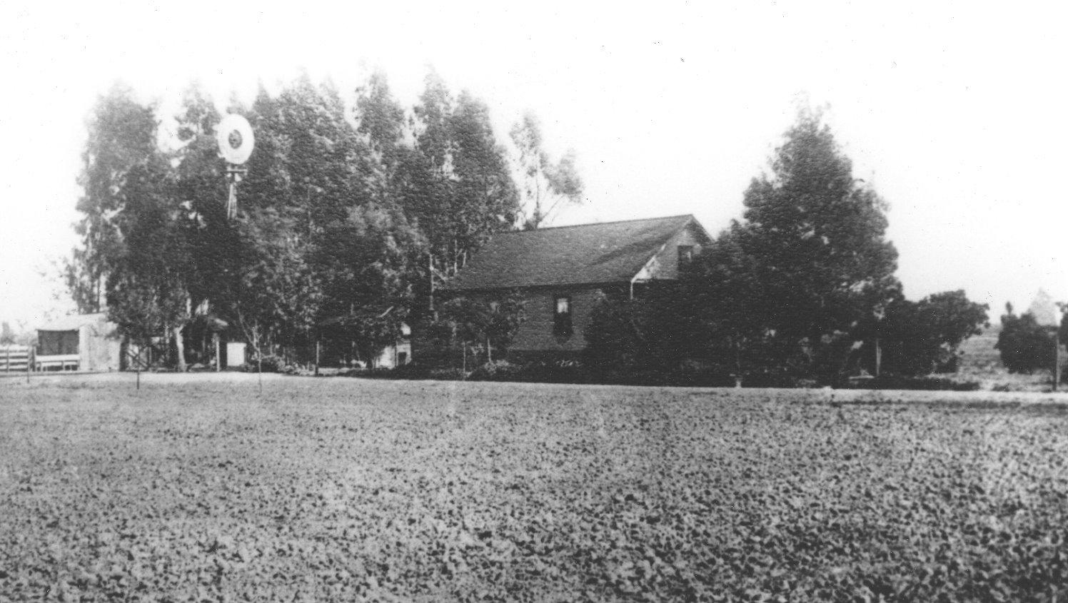 Hughan's Ranch in 1920's