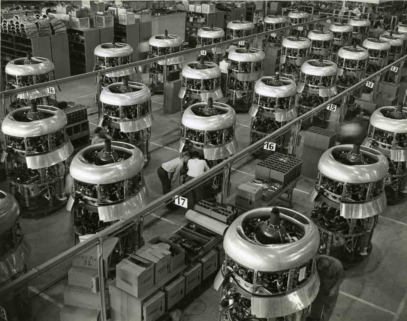 A-4 Vultee Engines