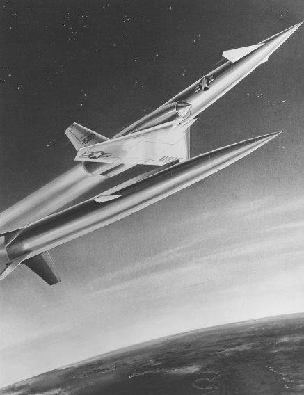 Navaho X-10 at booster seperation