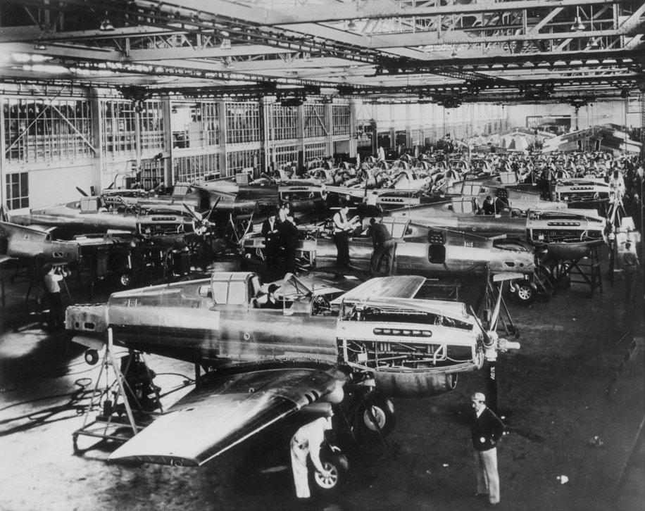 Aircraft production NAA
