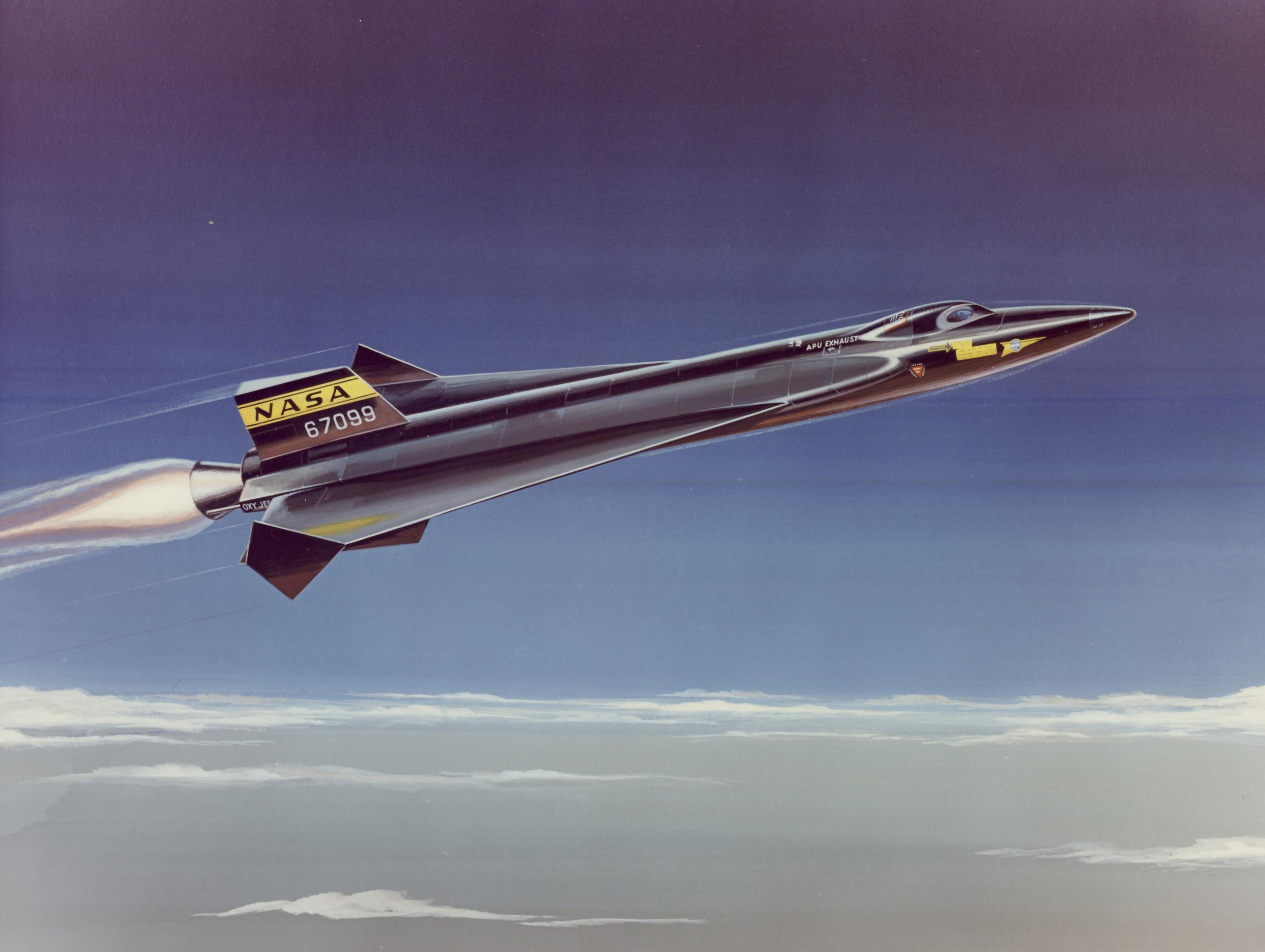 X-15 Supersonic concept