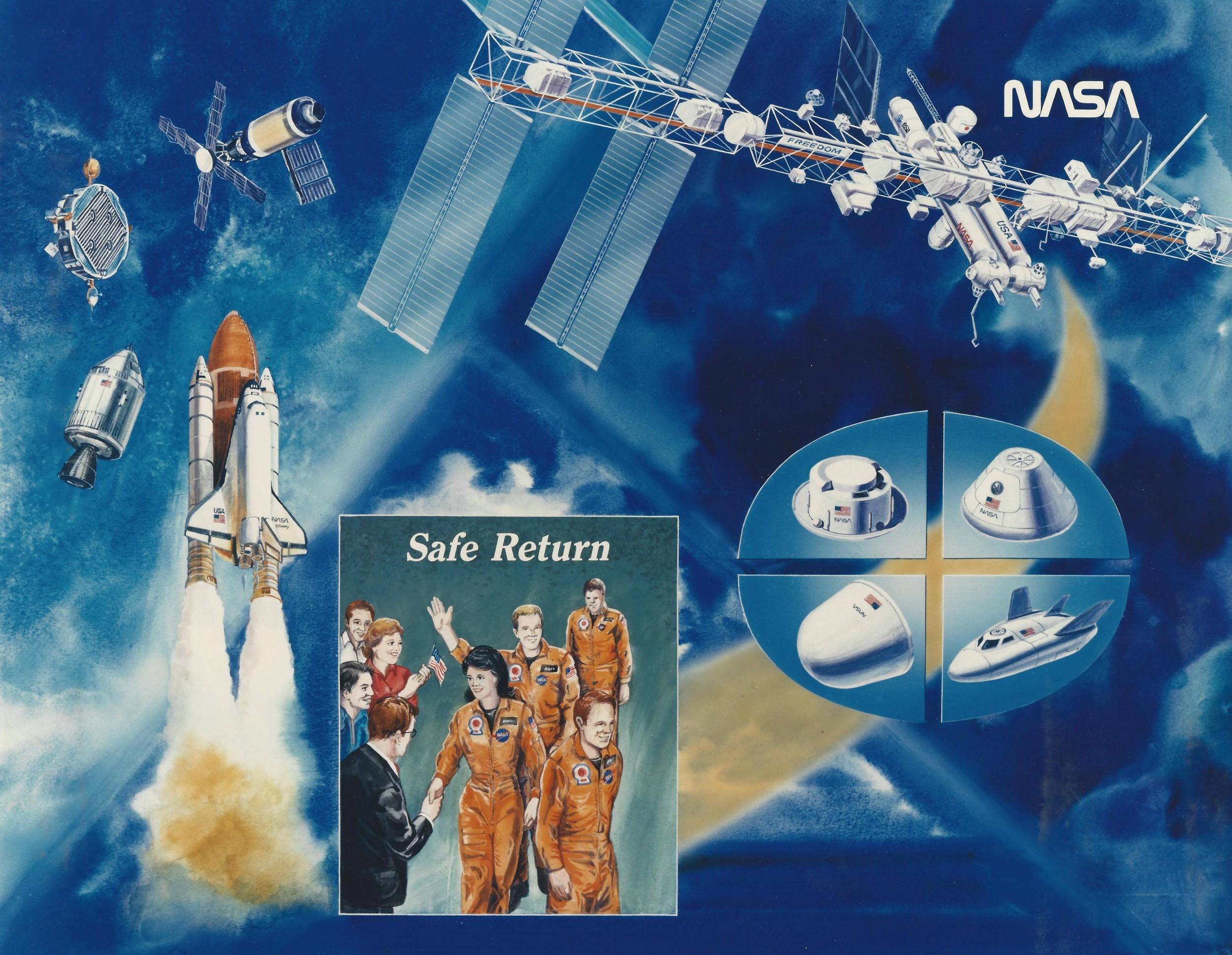 NASA Safe Return poster Shuttle ISS etc.jpg