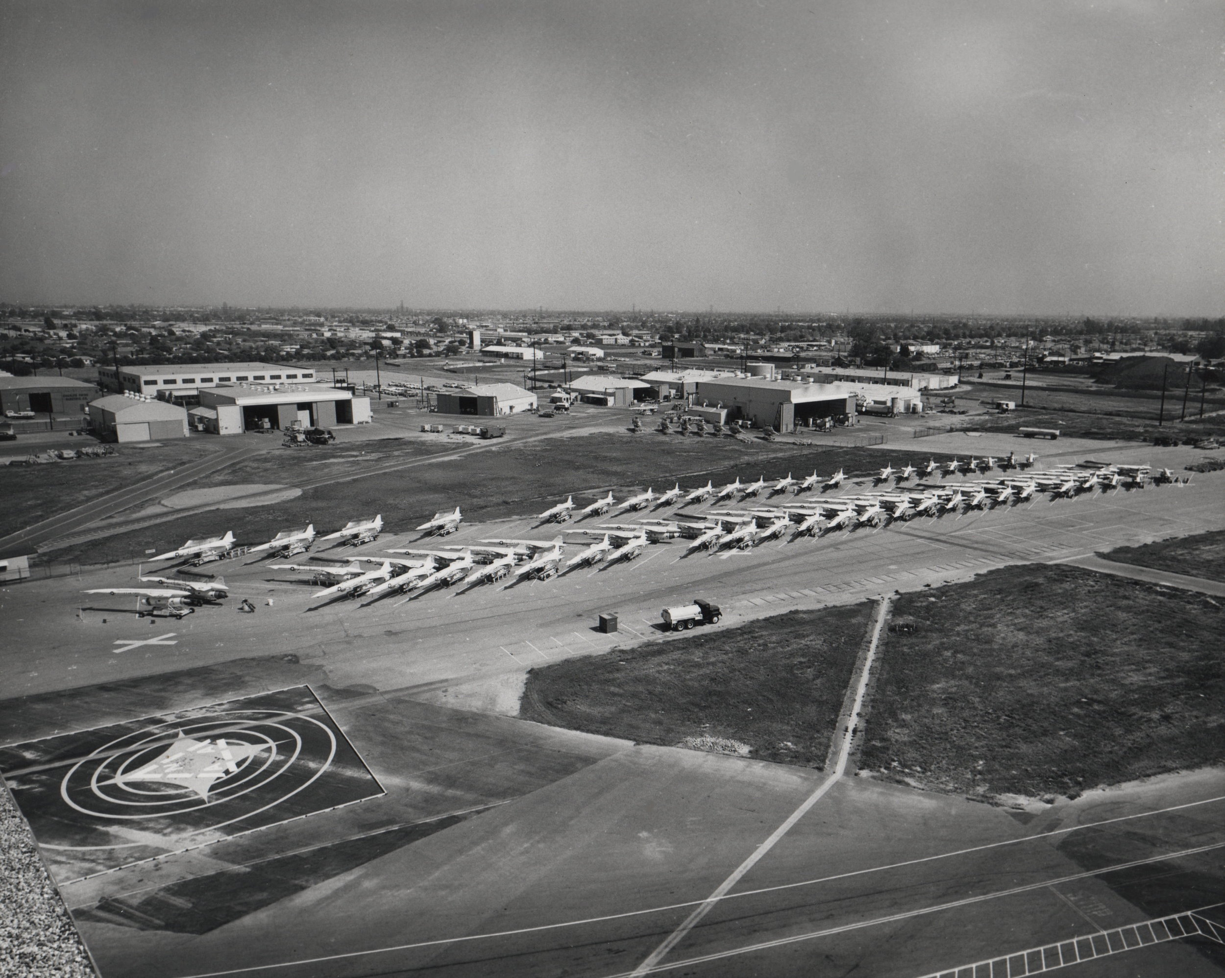 North American Aviation in Downey 1950's