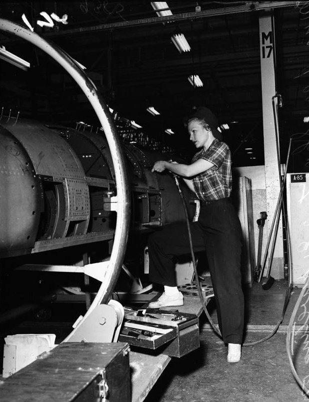 Lockheed Aircraft production 1951
