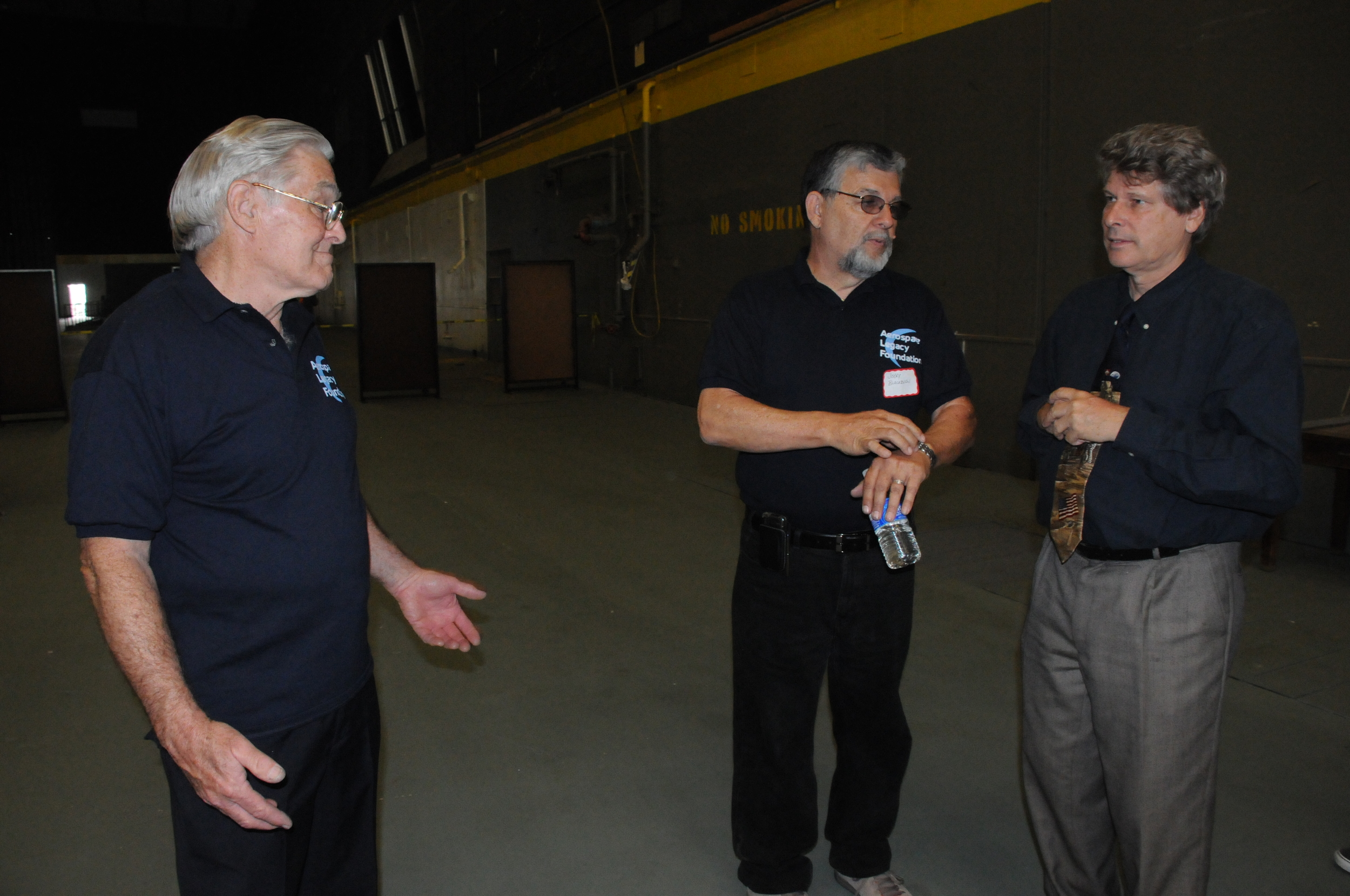 Bob Sechrist and Jerry Blackburn left