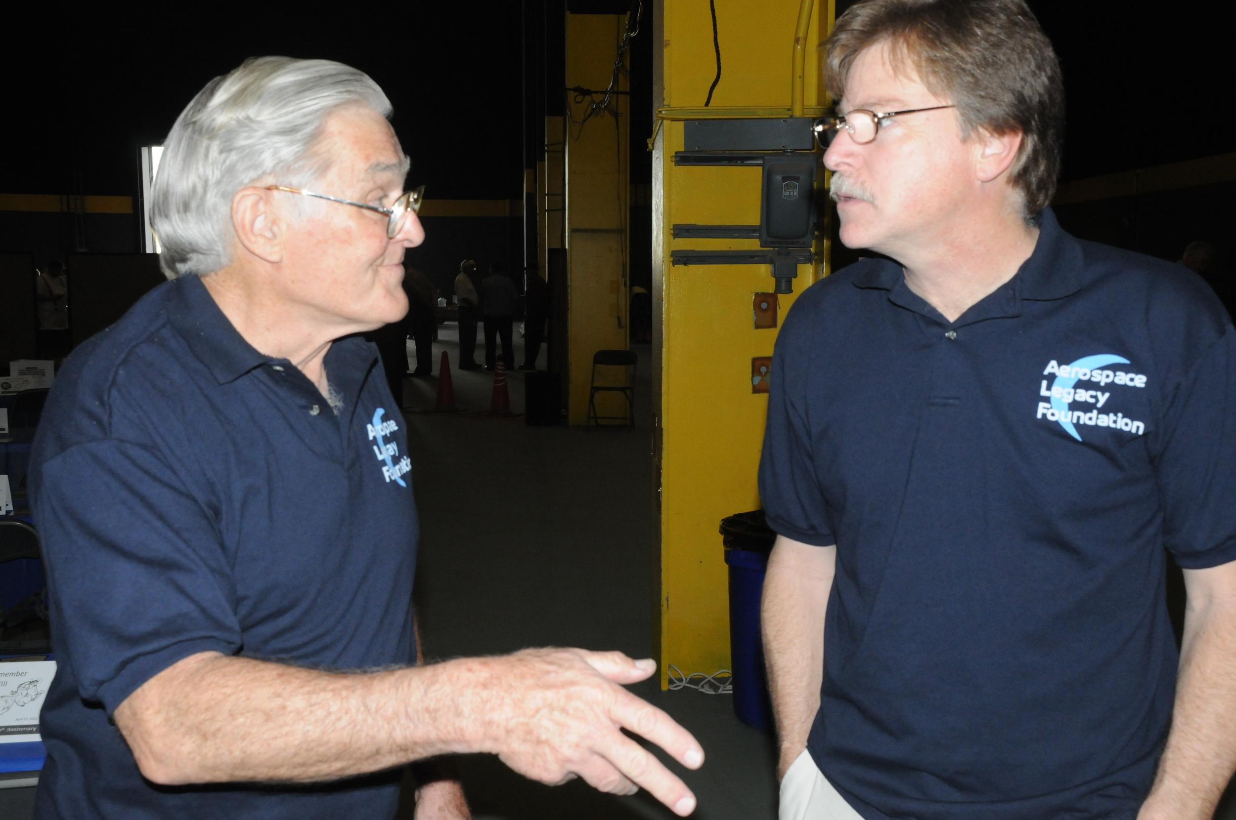 Robert Sechrist and Larry Latimer