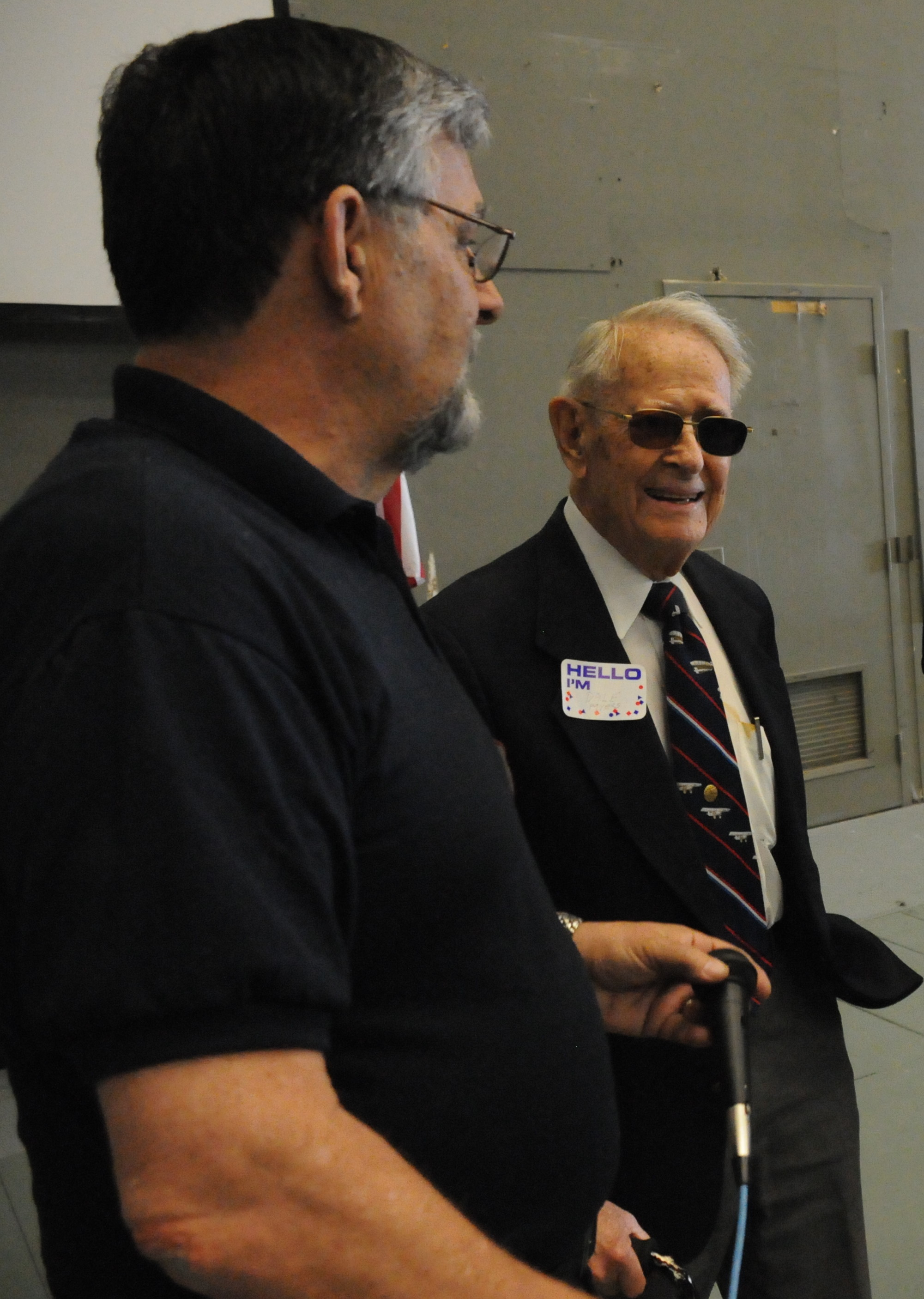 Jerry Blackburn and Dale Myers