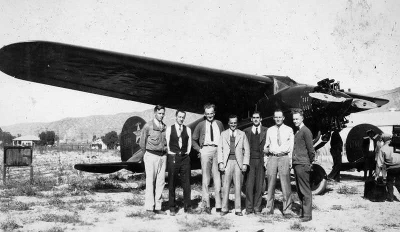 "The ""Old Gang"" at Lockheed 1928"