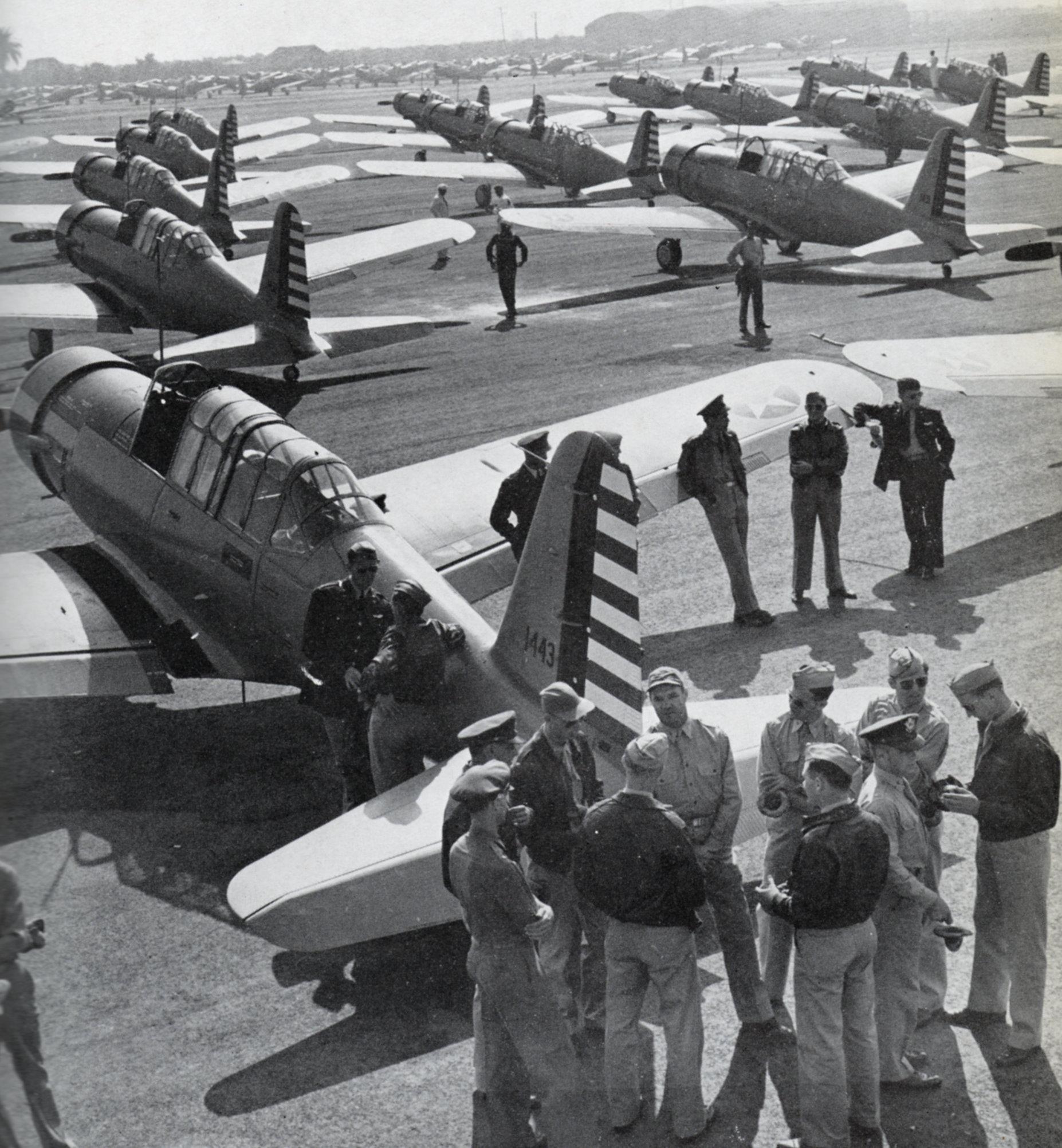 Vultee trainer Aircraft