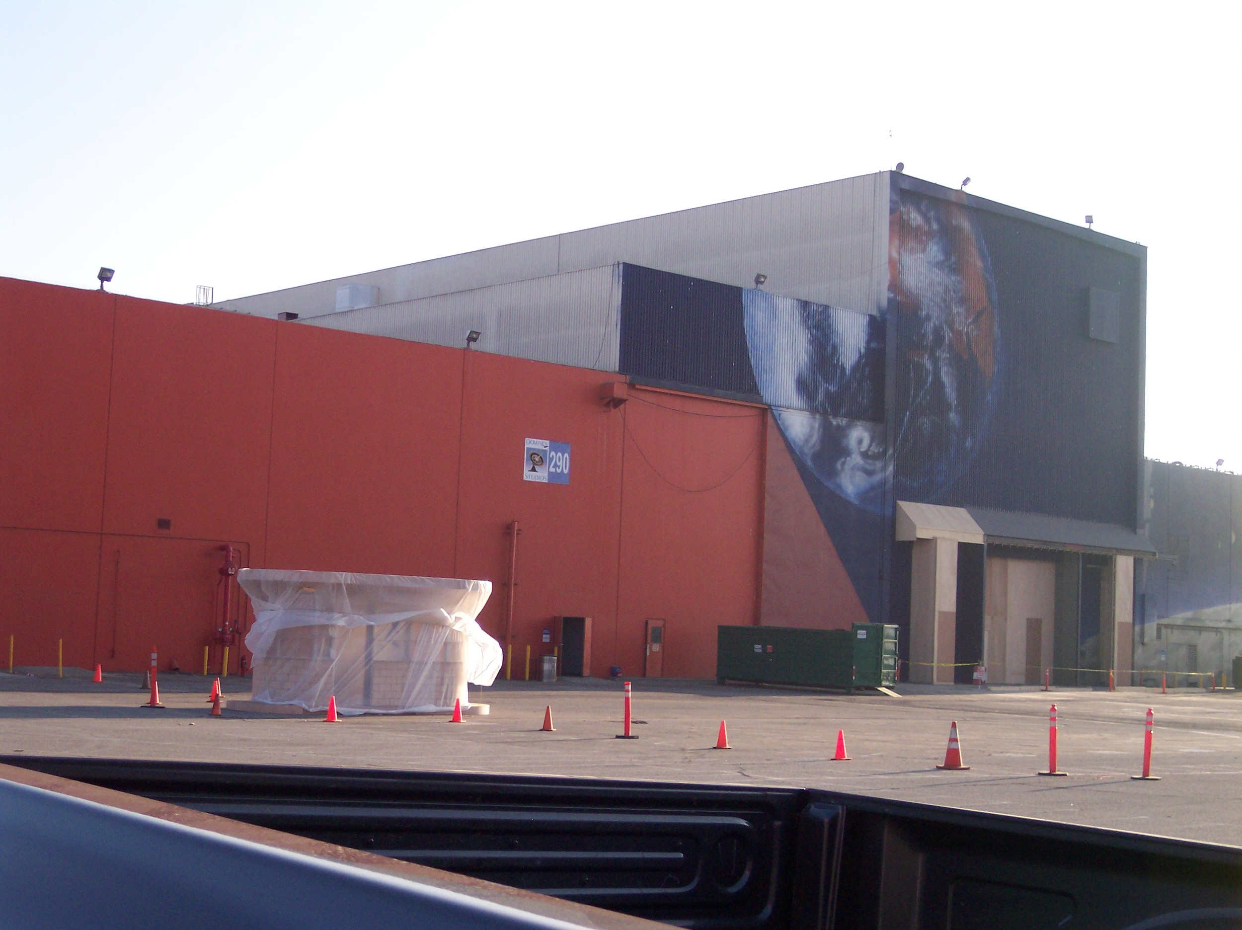 Building 290 at Downey Studios- Photo- Larry Latimer