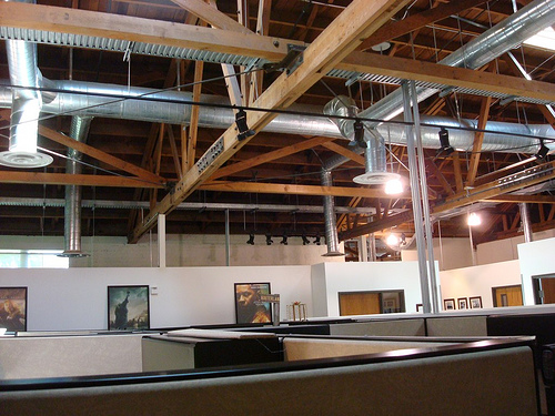 Office area of Downey Studios/ IRG- Photo- Larry Latimer