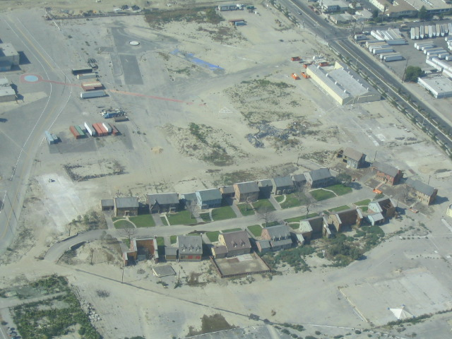 Downey Studios backlot area