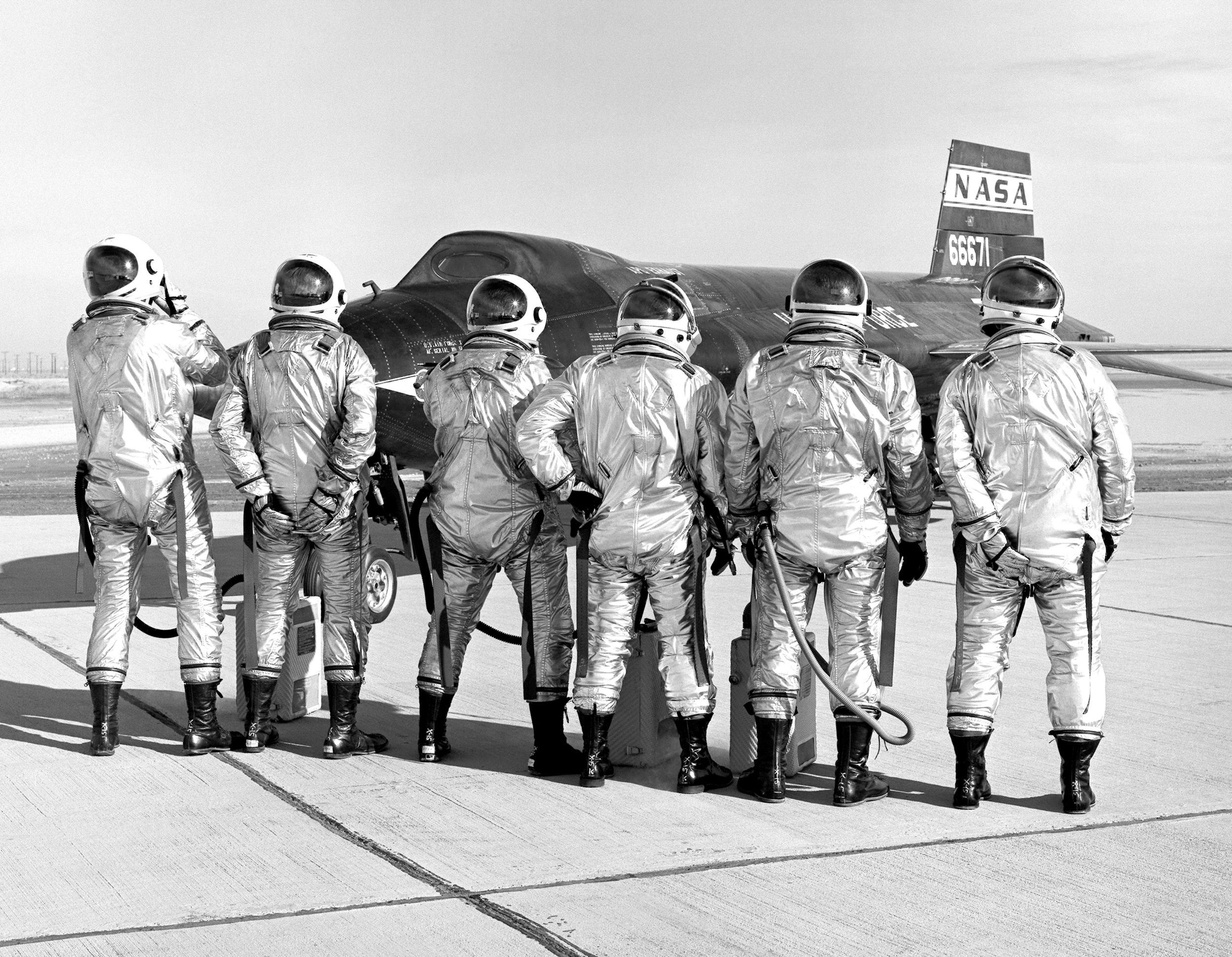 X-15 pilots in a lighter mood