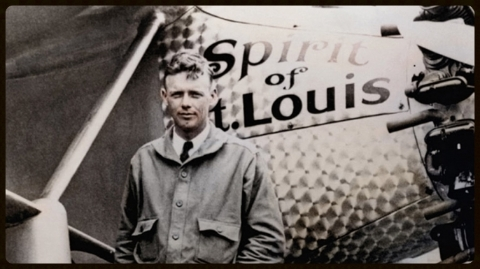 Lindbergh, Charles A. ?Spirit of Saint Louis?