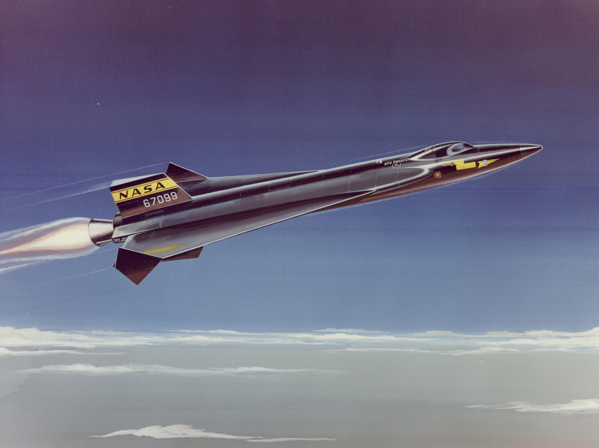 NAA delta wing X-15 concept