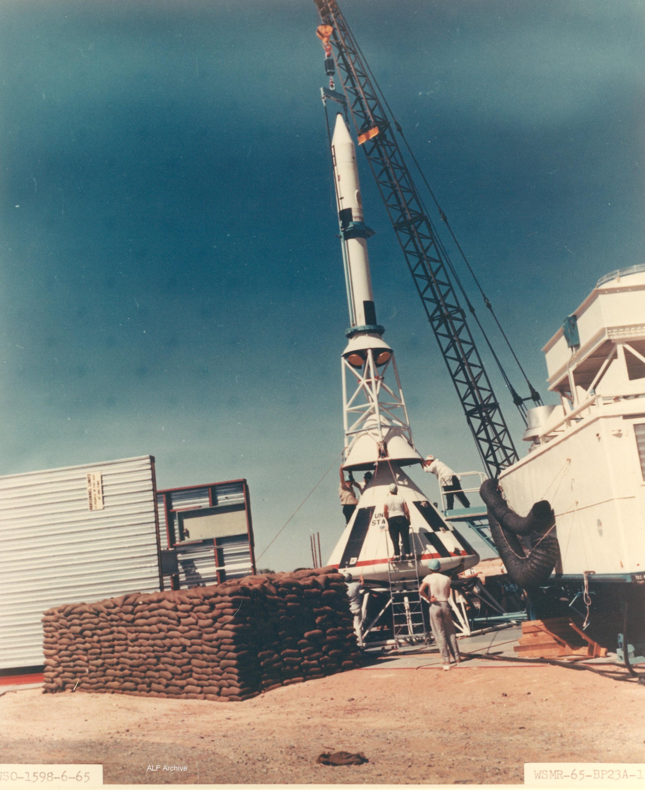 White Sands test BP-23
